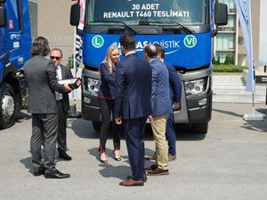 Arkas Lojistik, Renault Trucks ile yatırım yapıyor