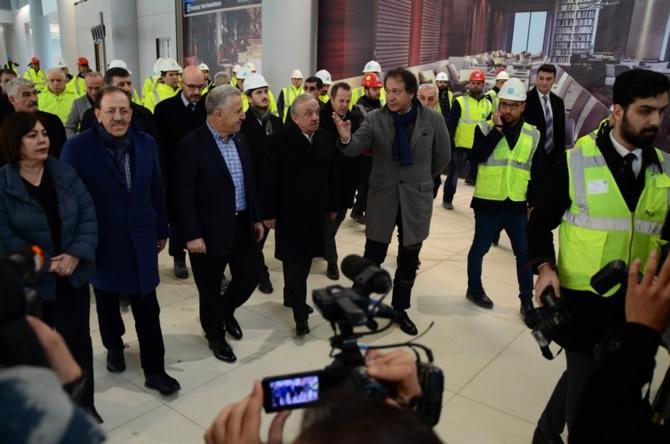 Ahmet Arslan İstanbul Yeni Havalimanı'nı ziyaret etti galerisi resim 1