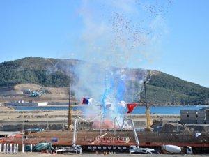 Akkuyu Nükleer Santrali'nin temeli atıldı