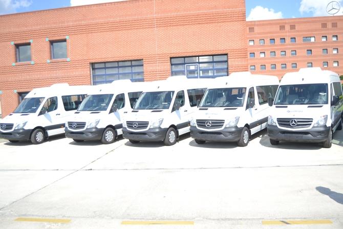 Mercedes-Benz Türk'ten Gürsel Turizm'e 43 adet araç teslimi galerisi resim 1