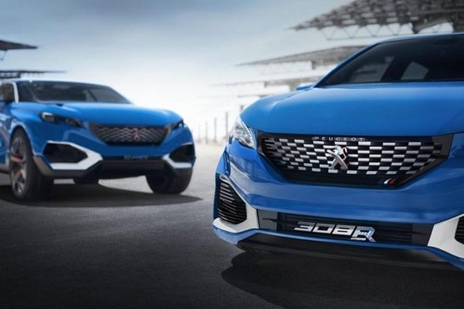 Peugeot'dan 500 beygirlik hibrit galerisi resim 1