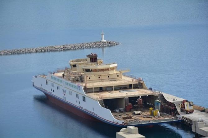 Türkiye'nin en büyük feribotu Van'da galerisi resim 1