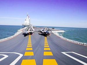 Çin yeni uçak gemisinin testlerine devam ediyor