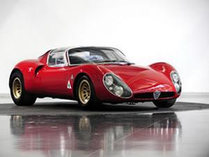 Alfa Romeo 33 Stradale 50 yaşında