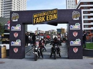 """Yüzlerce motosikletli """"Fark Edilmek"""" için  bir araya geldi"""