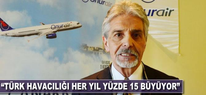 """""""Türk havacılığı her yıl yüzde 15 büyüyor"""""""