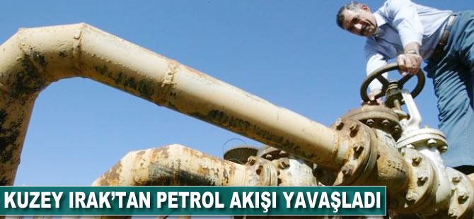 Kuzey Irak'tan petrol akışı yavaşladı