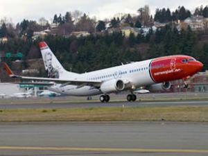 Norwegian Air uçağı kuş sürüsüne daldı