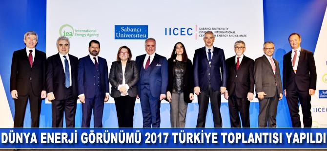 Dünya Enerji Görünümü 2017 Türkiye toplantısı yapıldı