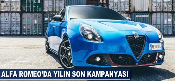 Alfa Romeo'da yılın son kampanyası