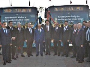 Meredes-Benz, Mersin Büyükşehir Belediyesi'ne 30 adet Conecto teslim etti