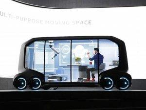 Toyota, yeni otonom elektrikli aracını tanıttı
