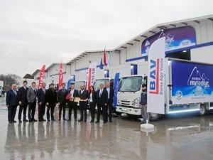 Anadolu Isuzu 2018'in ilk büyük teslimatını Bursa'ya gerçekleştirdi