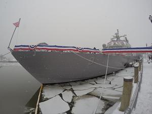 USS Little Rock, Montreal Limanı'nda mahsur kaldı