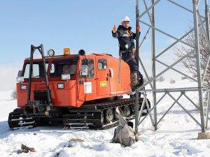 'Enerji timleri' kara kışta işbaşında