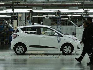 Sanayi kenti Kocaeli'de saatte 72 araç üretildi