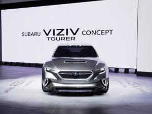Subaru VIZIV Tourer Concept Cenevre Otomobil Fuarı'nda tanıtıldı