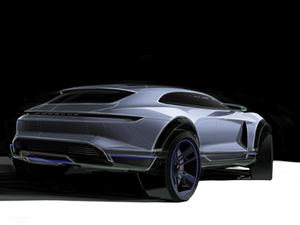 Porsche'nin elektrikli Crossover'ı Cenevre'de tanıtıldı
