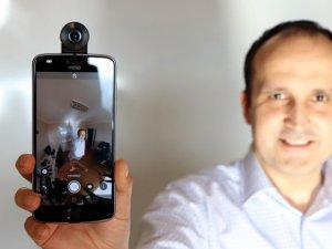 Motorola Moto 360 Camera!