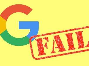 Google'dan iPhone gafı!