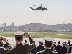 ATAK helikopterleri jandarmaya teslim edildi