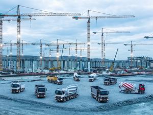 Mercedes-Benz Türk, 'Beton İzmir 2018 Fuarı'nda yerini alıyor