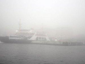 Çanakkale Boğazı'nda ulaşıma sis engeli