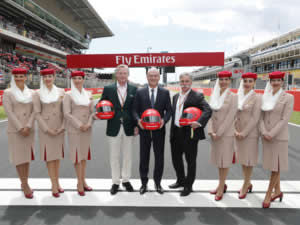 Emirates ve Formula 1 küresel ortaklıklarını yeniledi