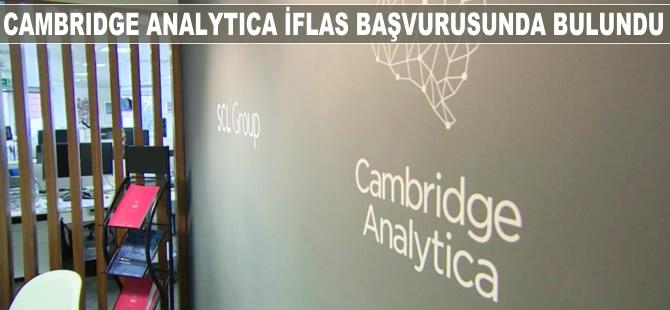 Cambridge Analytica iflas başvurusunda bulundu