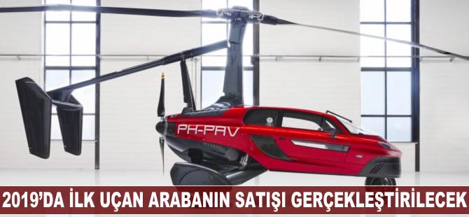 2019 yılında ilk uçan arabanın satışı gerçekleştirilecek
