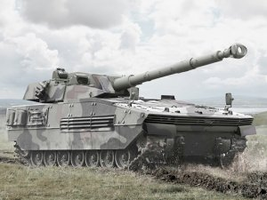 Otokar, hafif tankını ilk kez Paris'te sergiliyor