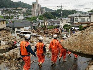 Japonya'daki sel ve toprak kaymalarında ölü sayısı 134'e çıktı
