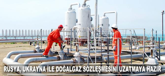 Rusya, Ukrayna ile doğalgaz sözleşmesini uzatmaya hazır