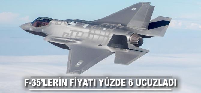 F-35'lerin fiyatı yüzde 6 ucuzladı