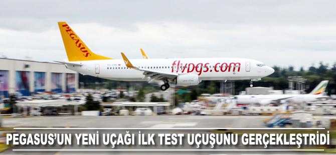 Pegasus'un yeni uçağı ilk test uçuşunu gerçekleştirdi