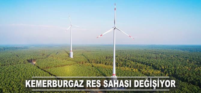 Lodos Elektrik Kemerburgaz RES sahasını değiştiriyor