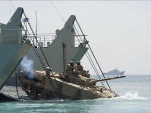 Mısır-Fransa-İngiltere ortak deniz tatbikatı yapıyor