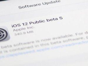iOS 12 Public Beta 5 yayınlandı!