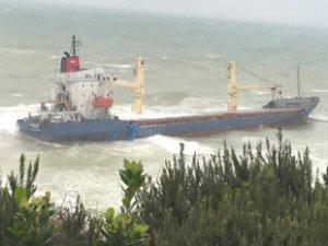 M/V Natalia isimli genel kargo gemisi, Şile açıklarında karaya oturdu