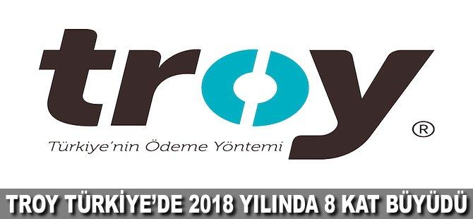 TROY Türkiye'de 2018 yılında 8 kat büyüdü