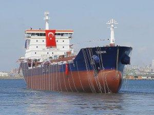 RMK Marine'in DİTAŞ'a özel ürettiği tanker deniz indi