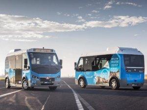 Elektrikli Türk minibüsleri Avrupa yollarında!
