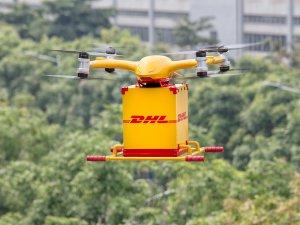 DHL Express, şehirlerde drone ile tam otomatik ve akıllı dağıtım hizmetini başlattı