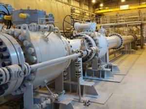 TANAP'tan bir yılda 1,8 milyar metreküp gaz geldi
