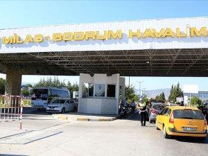 Milas-Bodrum Havalimanı'nda özel jet pistten çıktı
