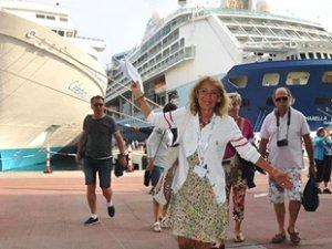 Kuşadası Ege Port Limanı'na 2019'un ilk 5 ayında 40 gemi geldi