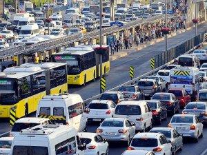 Trafiğe kayıtlı araç sayısı Mayıs'ta 57 bin arttı