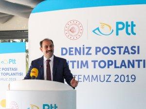 PTT'nin Deniz Postası hizmeti İstanbul'da sunulmaya başlandı