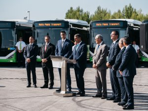 Malta'ya 40 adet KENT otobüs ihraç edildi