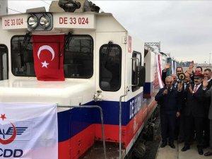 BTK demir yolu güzergahında taşımacılık zirvesi